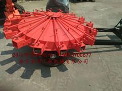 拖拉机拖着的扫路机 折叠式扫路机 拖挂式扫路机