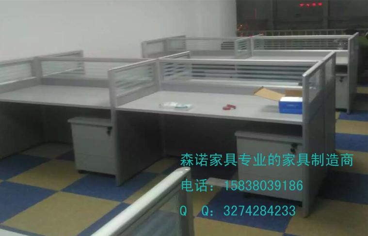 商水员工屏风桌 扶沟屏风工位桌