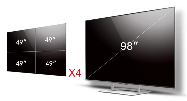 LG98寸液晶电视商业显示