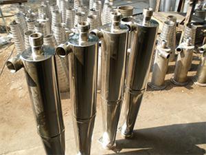 安丘瑞杰高浓除渣器的使用与操作。