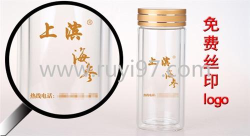 东辽广告杯_诗如意玻璃杯生产厂家_淄博订做广告杯