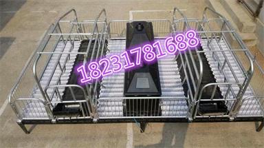 福宇养猪设备复合板保育床和养猪设备铸铁保育床