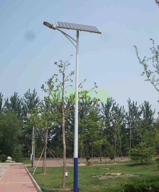 LED路灯整套安装 锂电池一体化 普瑞芯片 新农村照明