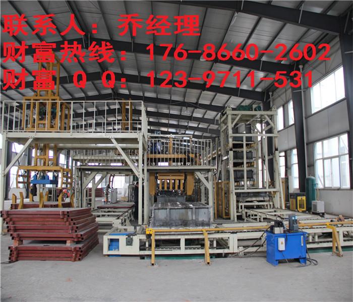 保溫磚生產設備 低碳環保智能化砌塊磚設備