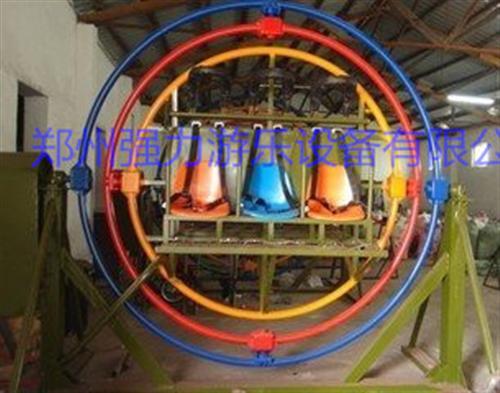 三维太空环简介_强力游乐_三维太空环结构