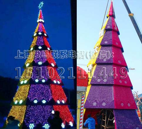 大型圣诞树销售哪家比较好大型圣诞树生产厂家3米到30米圣诞树造型任你选