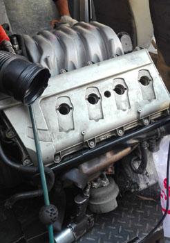 奥迪a6 4.2发动机波箱
