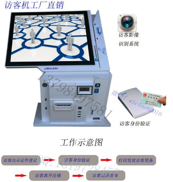 访客系统触摸屏访客一体机