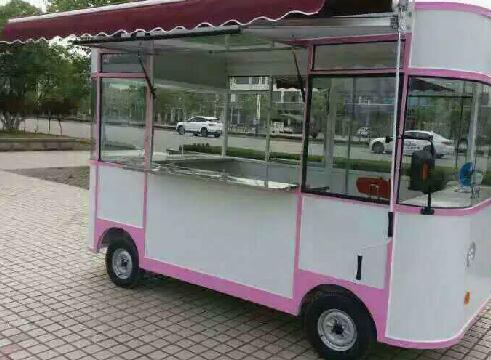 一路芳香电动餐车小吃车