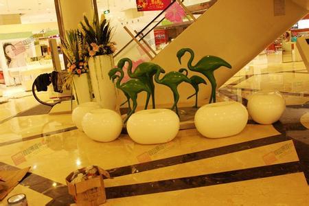 装饰美陈厂家 聚艺雕塑供货及时