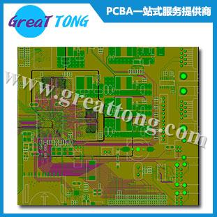 8层纺纱机电路板设计_深圳PCB设计打样-深圳宏力捷