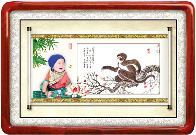 广州荔湾区桥中附近哪里有专业制作婴儿胎毛纪念品的