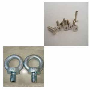 供青海平头机螺丝和西宁吊环螺钉