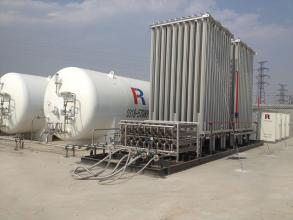 LNG供气站工艺管线设计