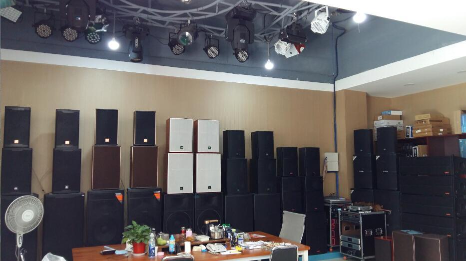 河南文化传媒公司专用音响功放灯光设备批发公司
