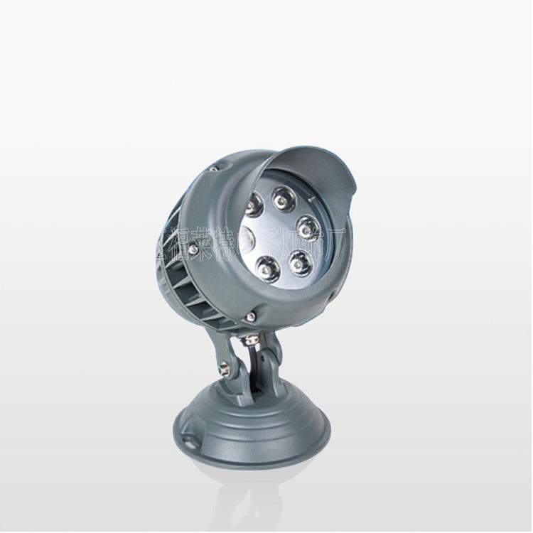 厂家供应3*3W/6*3W大功率LED投光灯 户外防水招牌灯投射灯