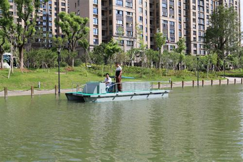 福建水草保洁船、无锡司提达机械设备、水草保洁船厂