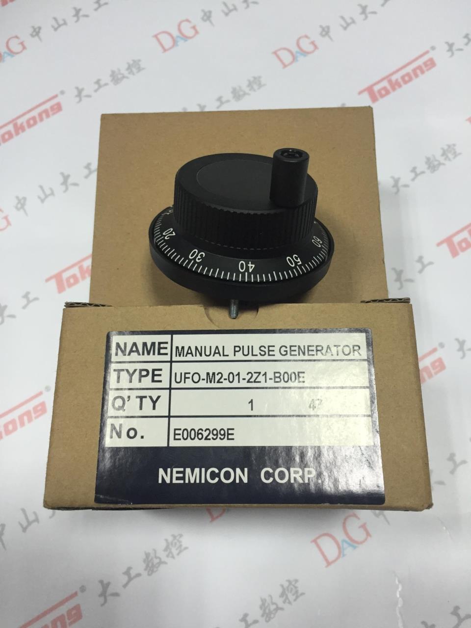 NEMICON内密控UFO-01-2Z1-99手摇脉冲发生器
