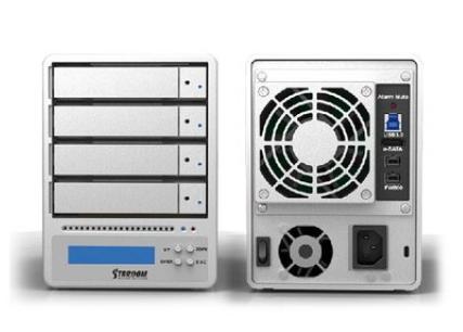 Stardom 星腾 SR4 WBS3+   4盘位桌面式磁盘阵列