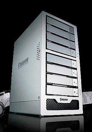 Stardom 星腾 ST8 U5   8盘位桌面式磁盘阵列