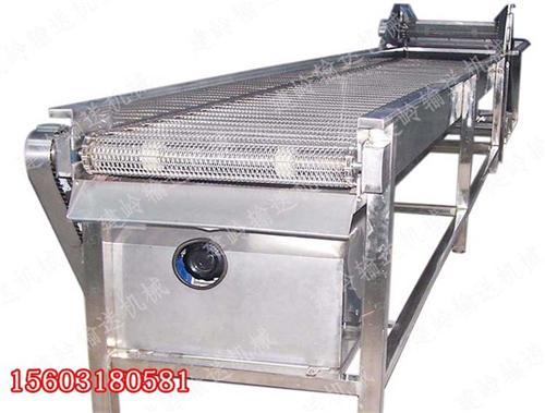 链板输送机|河北实体厂家直销|皮革加工用金属链板输送机流水线