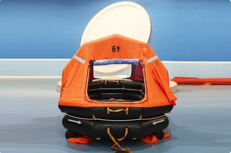 厂家供应船用充气救生筏
