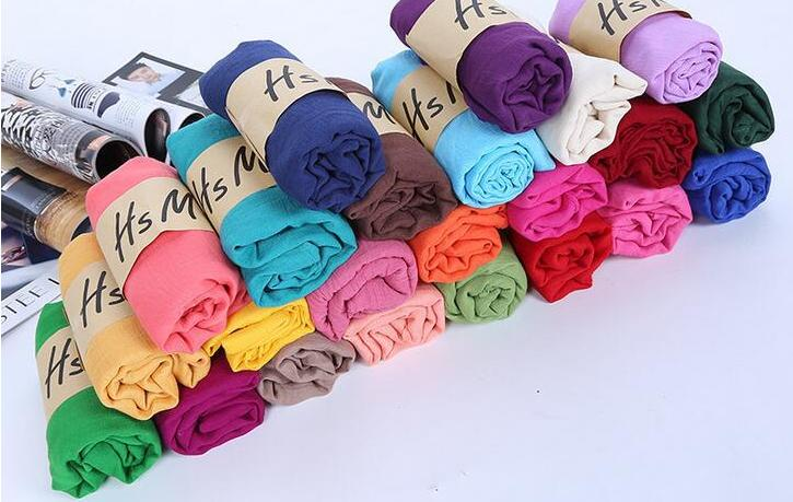 新款围巾纯色棉麻围巾厂家直销一件代发地摊货源赠品围巾披肩爆款