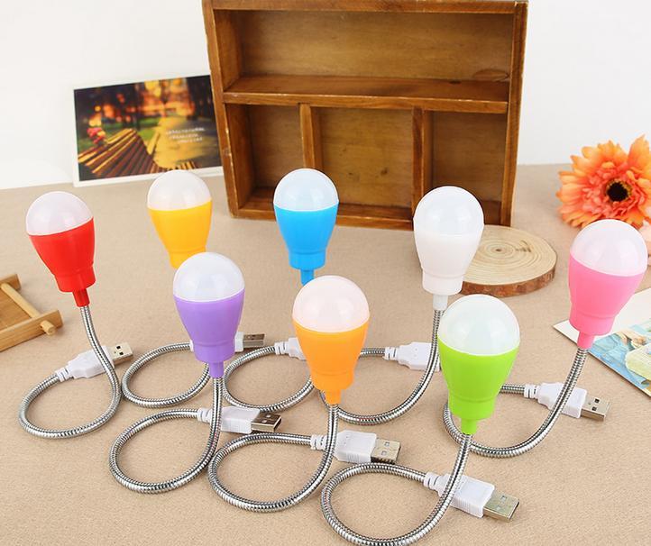 创意usb长线小台灯旅行应急新led球灯泡充电宝专用应急球灯泡批发