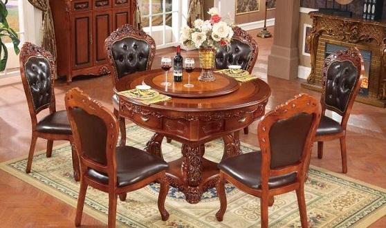 圆形现代餐桌式麻将桌哪里有卖的
