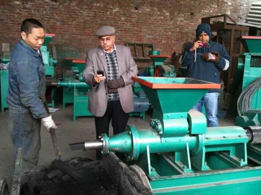 秸秆煤炭成型机或煤棒成型机