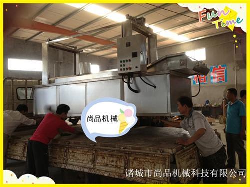 豆腐油炸锅出厂价,景德镇豆腐油炸锅,诸城尚品机械(查看)