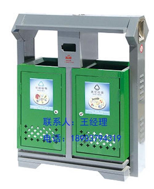 洛阳生产厂家户外不锈钢垃圾桶是支持定制的