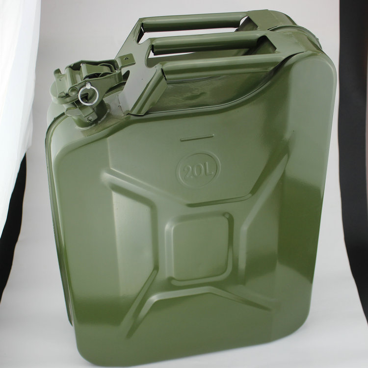 40L加厚金属桶 60l备用油箱 35升铁油桶