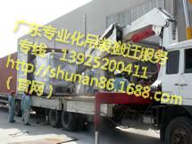 国外进口机械设备货柜卸车搬运定位