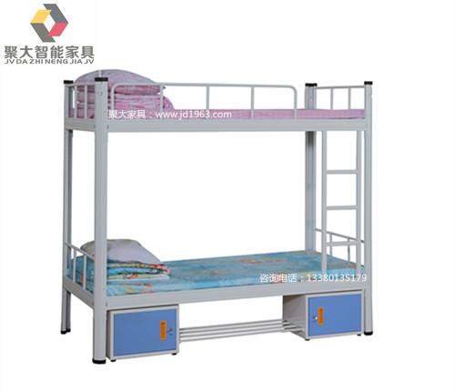 平凉铁架床 平凉学生公寓床批量 经久耐用 聚大家具