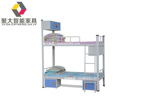 揭阳学生铁床上下铺提供效果图生产厂家【聚大智能家具】