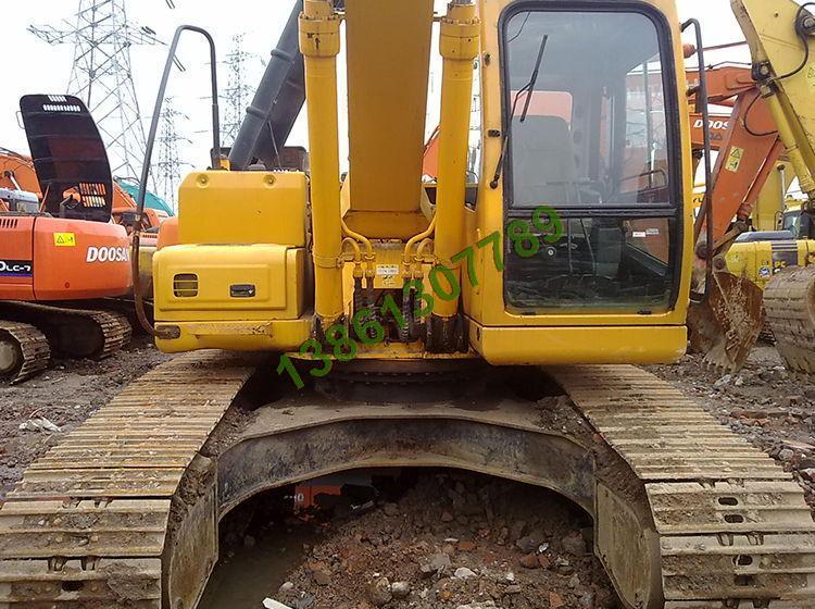 二手现代225-7挖掘机货到付款