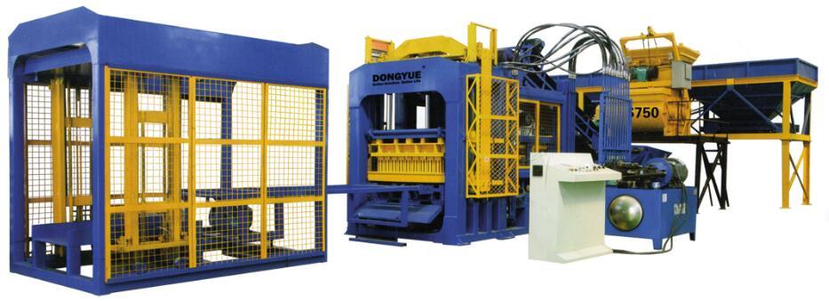 黄山全自动液压砖机透水节型价格砖机粉饼小黑裙厂家图片