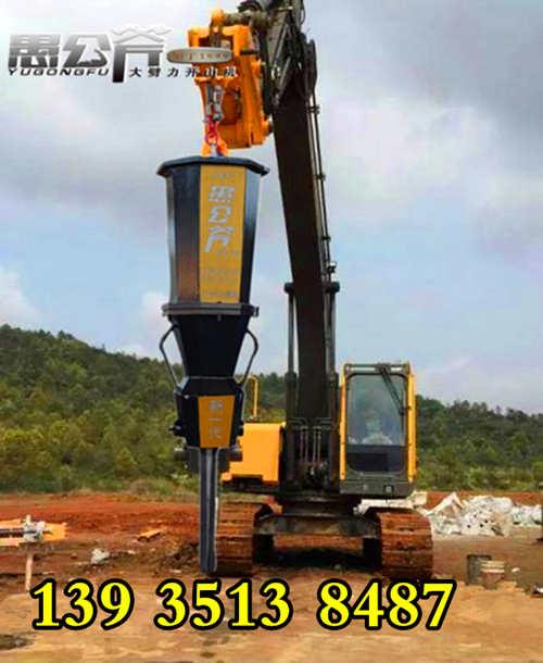 沟渠岩石破拆设备日照地基开挖分裂机