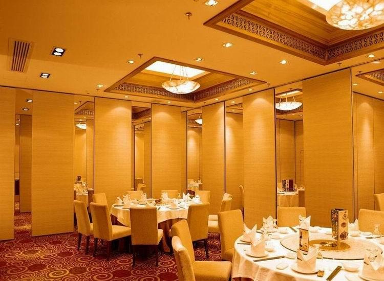 供应淮南餐厅酒店移动隔断、生产定制