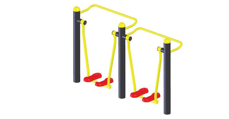 昊爱供应户外运动健身器材,A-02708双人漫步机