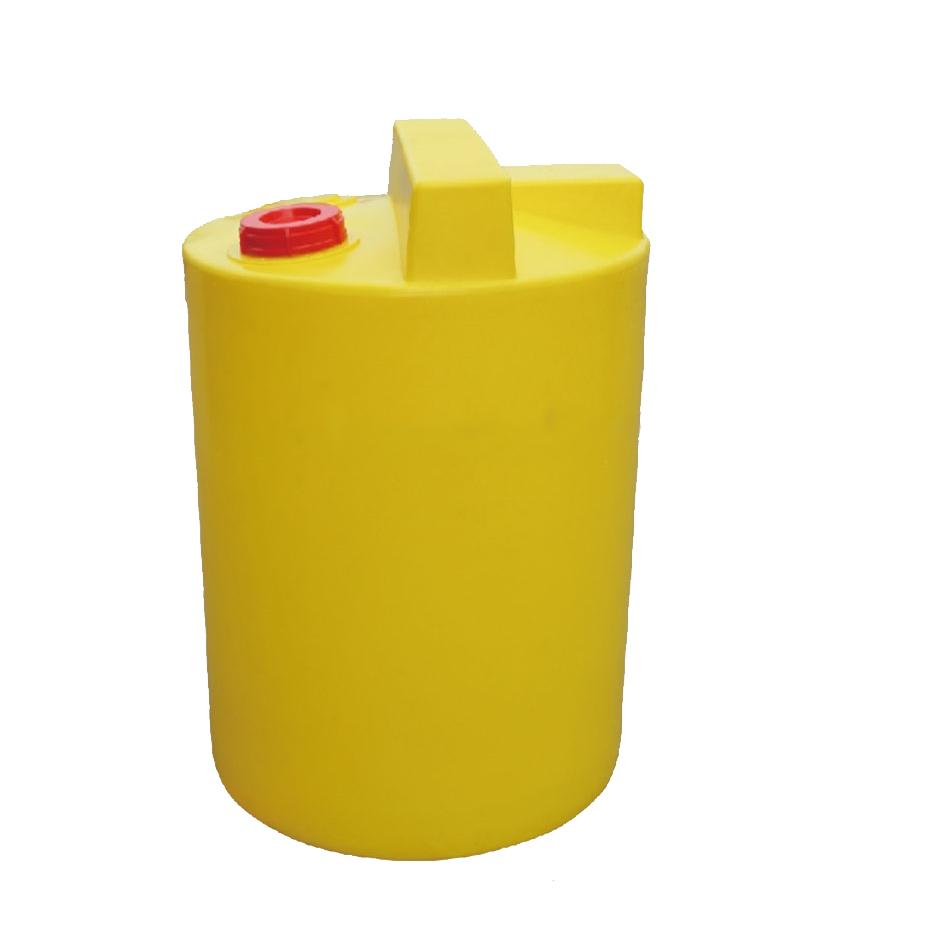 供应孝感1立方PE加药搅拌桶带搅拌机