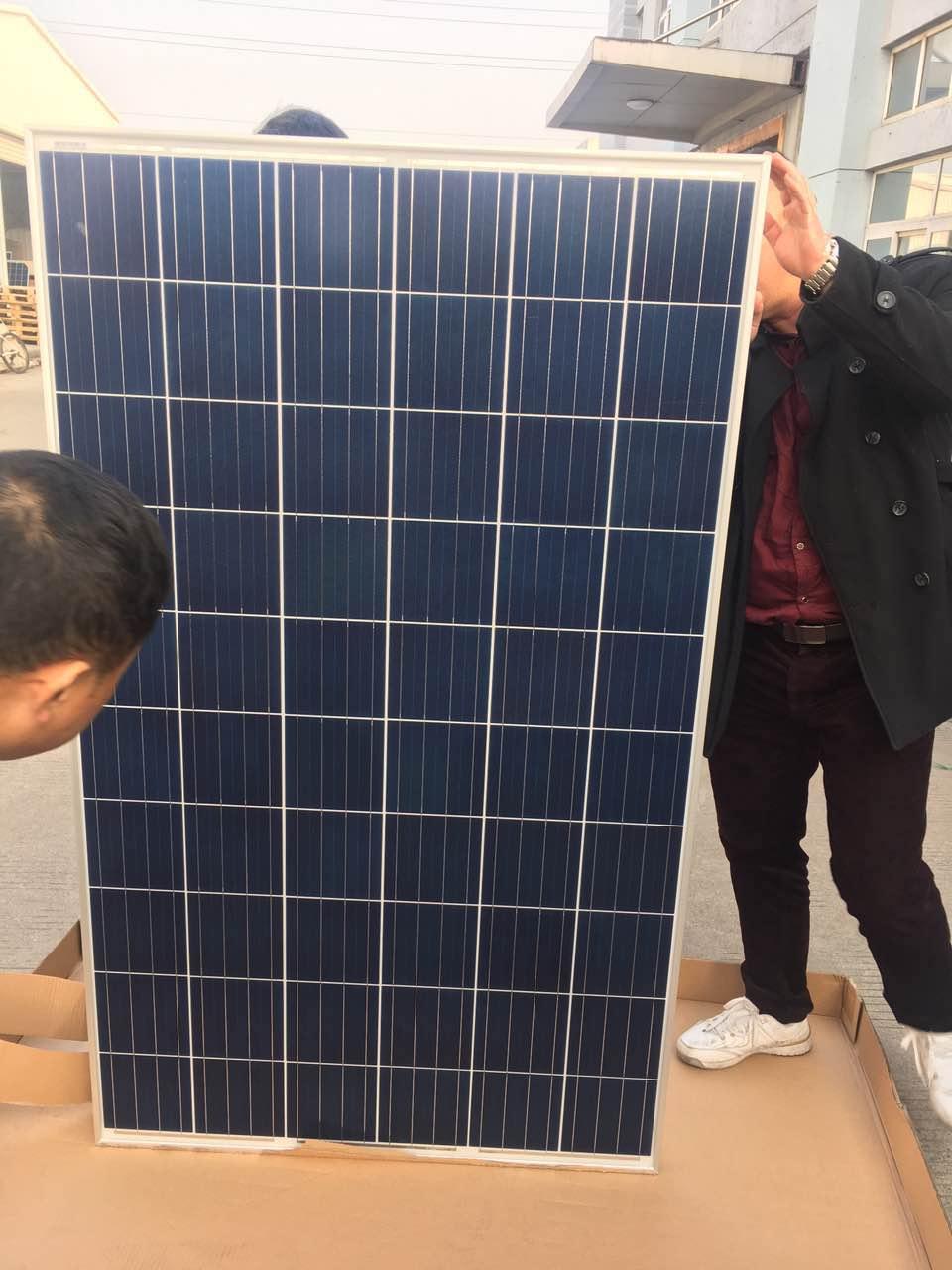 正品晶澳太阳能电池板多晶硅太阳能组件家用太阳能发电系统
