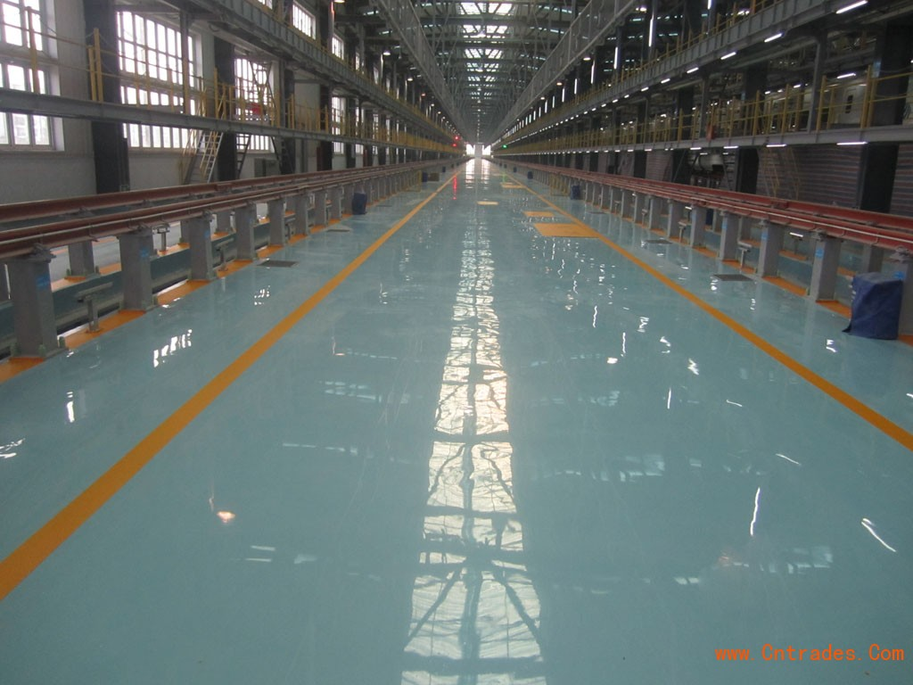 白云厂房装修之厂房地坪漆施工 耐磨环氧地坪施工价格 地坪漆施工公司
