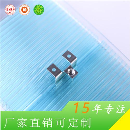 无锡惠臣简便安装100%防漏8mm锁扣型阳光板