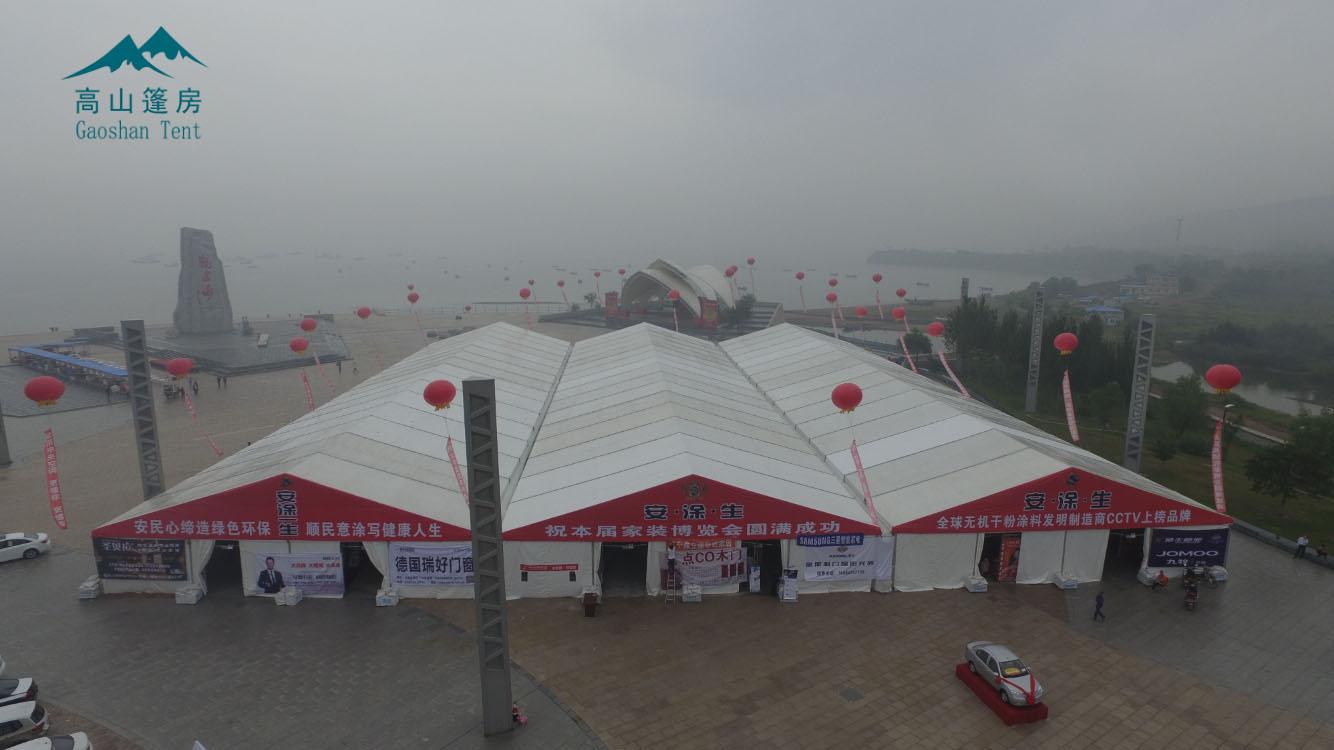 枣庄展览会篷房、啤酒节大篷、大跨度篷房、枣庄车展篷房