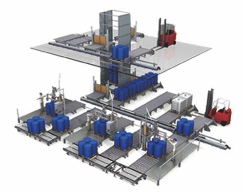 半自动液体灌装机|液体灌装机|无锡永蓝自动化设备