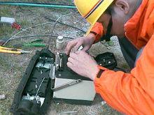 熔接通讯光纤 网络通信光缆熔接 室外防水光纤熔接