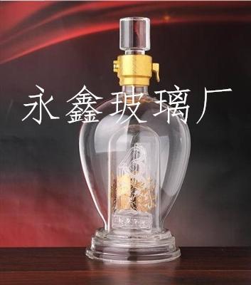 供应工艺玻璃的各种酒瓶