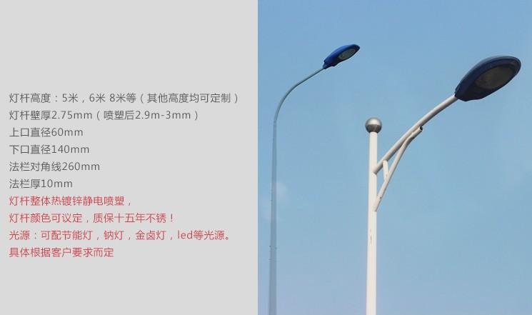 扬州弘旭照明有限公司生产1米路灯头户外防水灯道路灯